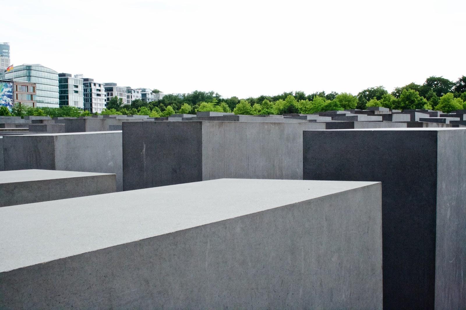 Berlín - židovský památník