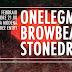 ONELEGMAN, BROWBEAT E STONEDRIFT LIVE A MODENA