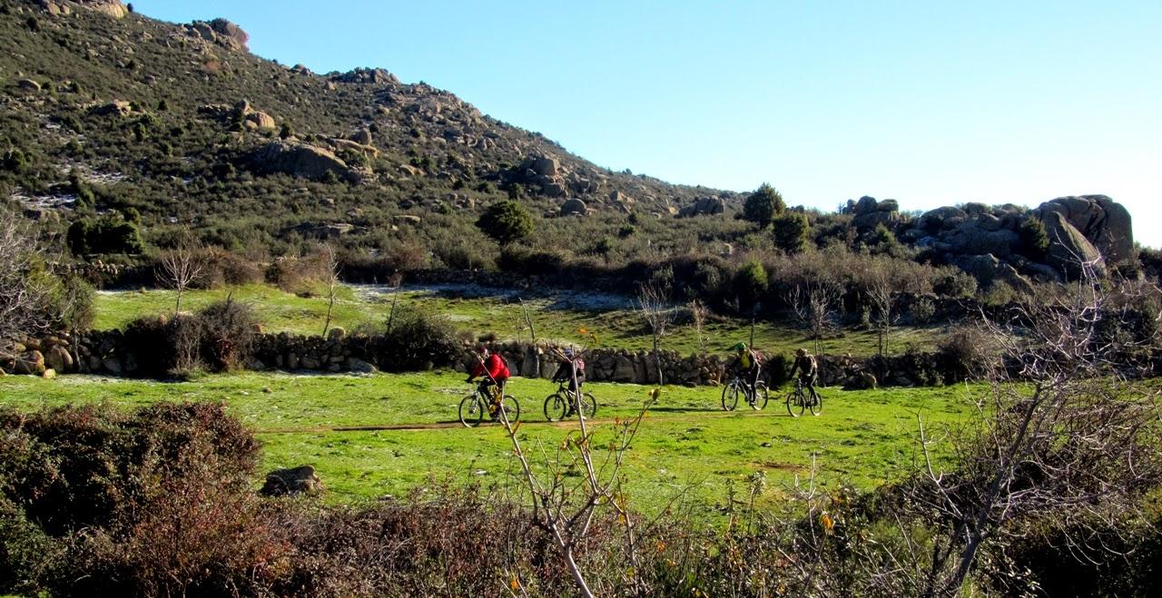 MTB Pueblos de la Sierra Madrileña - Alfonsoyamigos