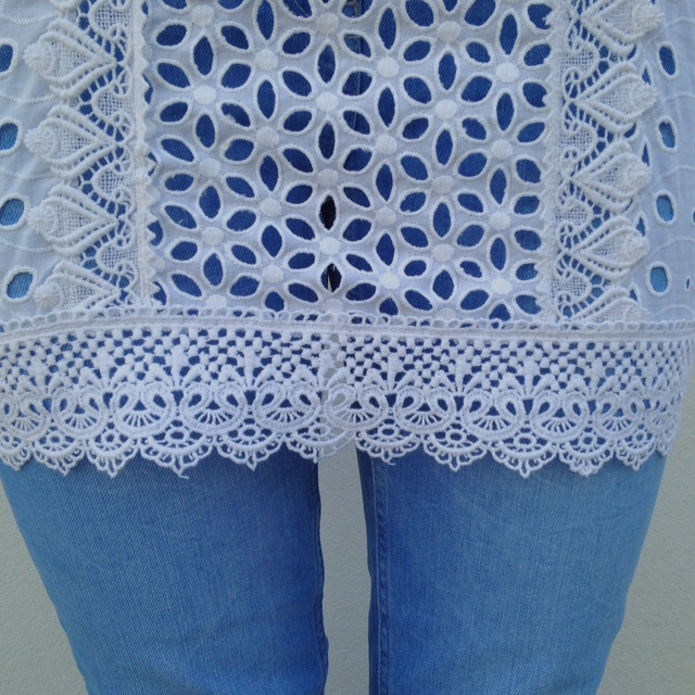 What Lizzy Loves broderie anglaise tunic