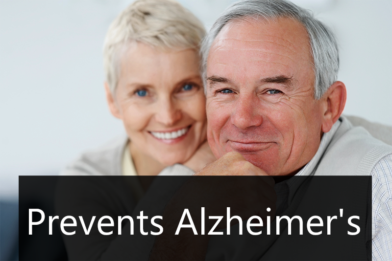 Prevents Alzheimer's