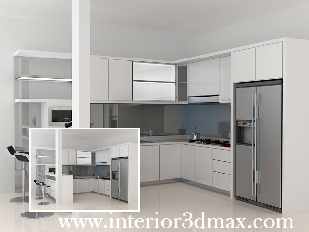 Jasa Desain Ruko Minimalis Modern Desain Dapur Kitchen