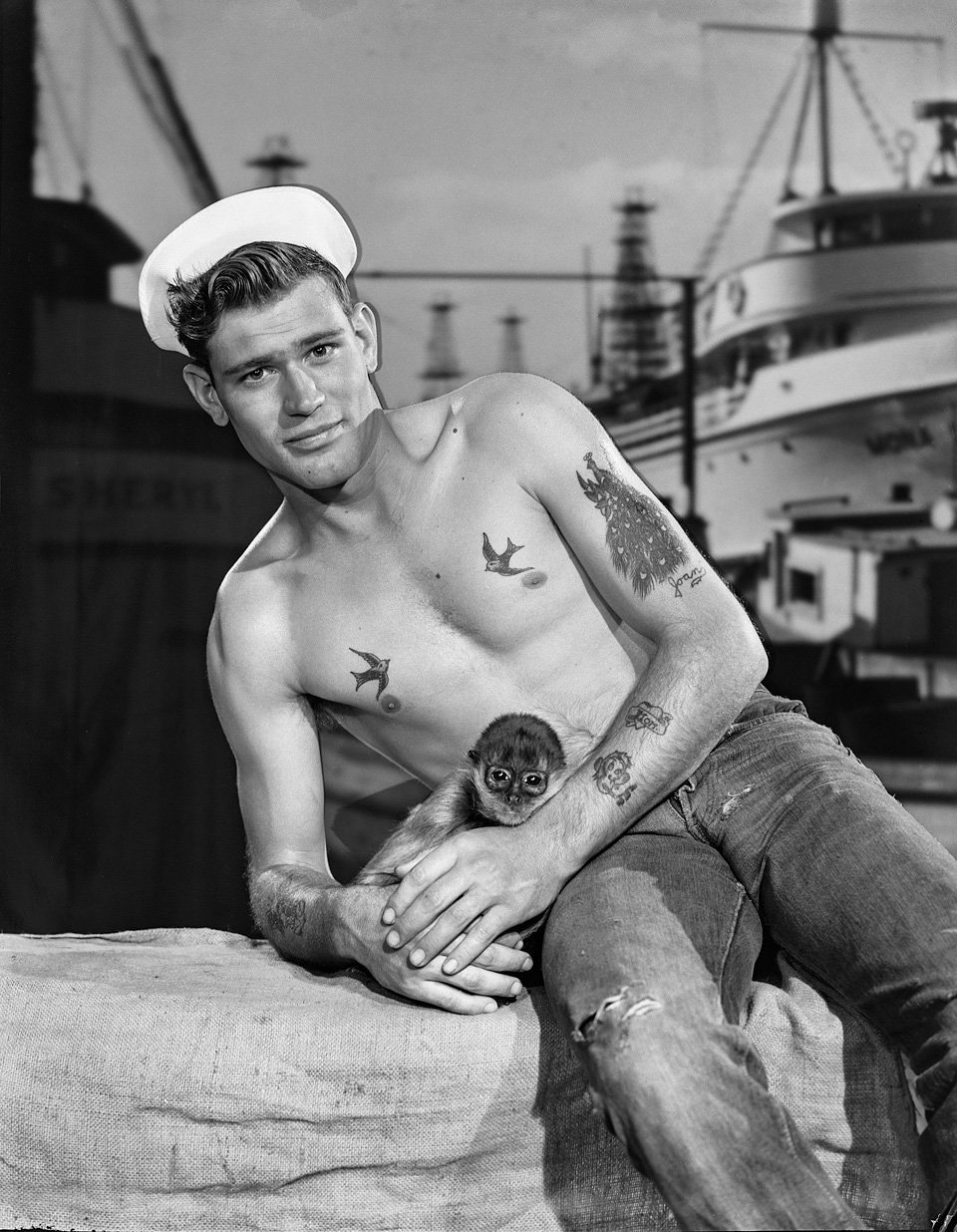 A sailor on every port