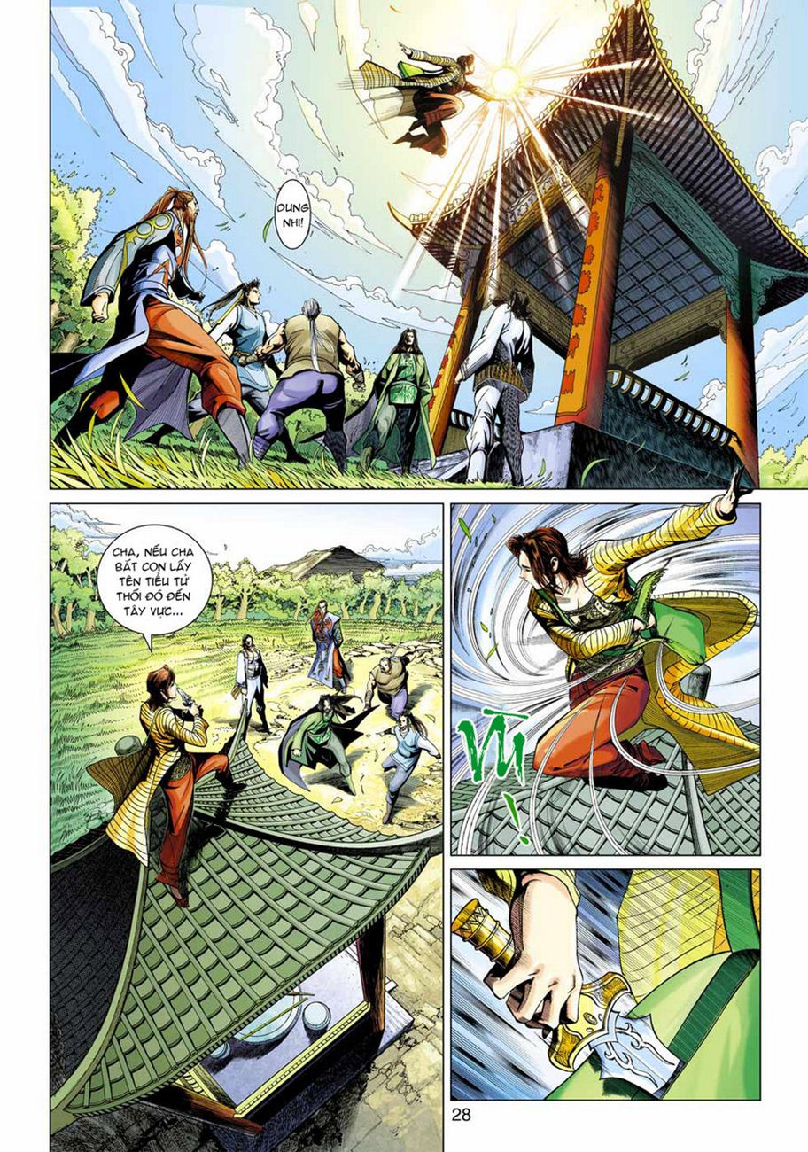Anh Hùng Xạ Điêu anh hùng xạ đêu chap 47 trang 28