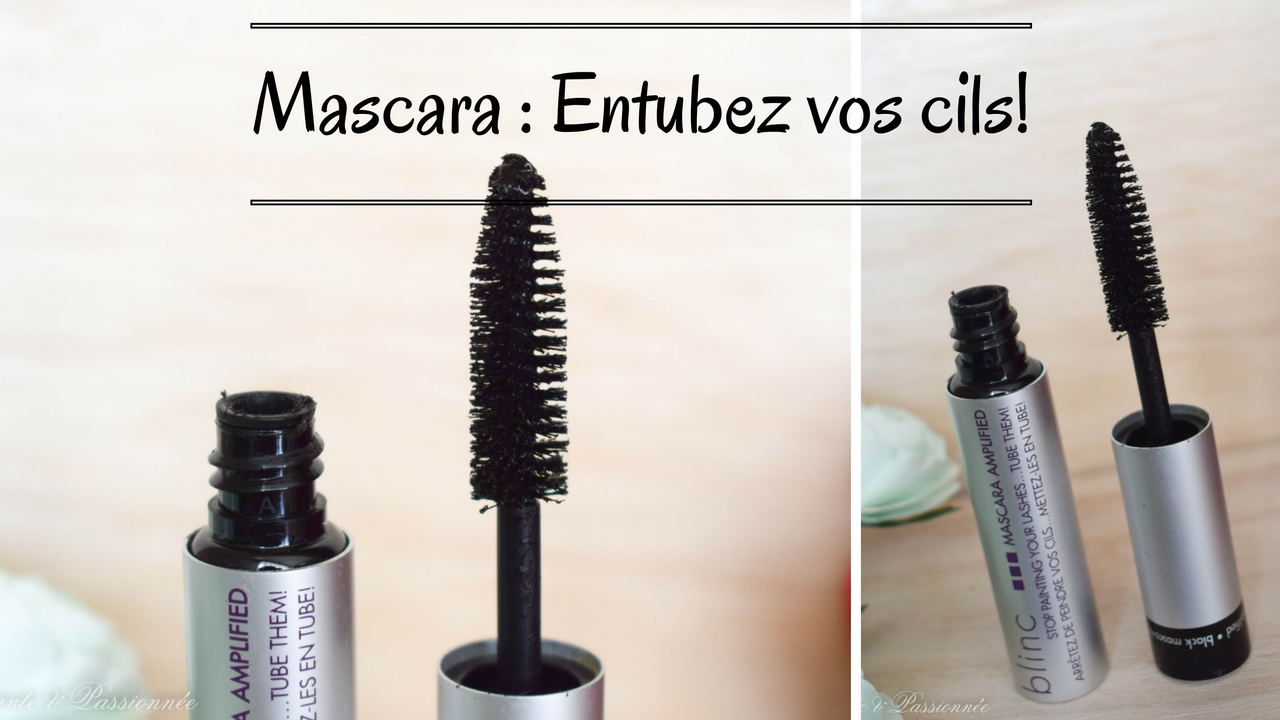 mascara noir BLINC