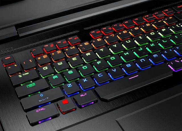 Laptop Gaming MSI GT75 Titan dengan Intel Core i9