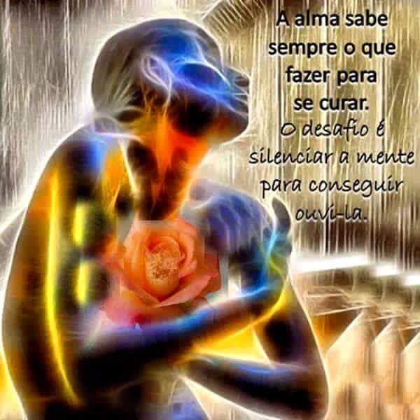 Resultado de imagem para Só o amor pode curar as doenças da alma mensagens