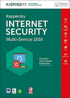 Protects against viruses, spyware, threats £19.00 Kaspersky Internet Security 2016
