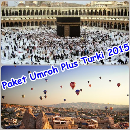 Paket Umroh Plus Turki Feb 2015