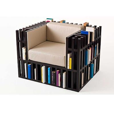 model rak buku unik terbaru