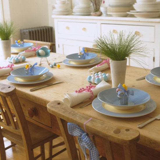 Wonderfull Easter Decorations Table Design Ideas: Great Easter Table Decorating Ideas : Let's Celebrate