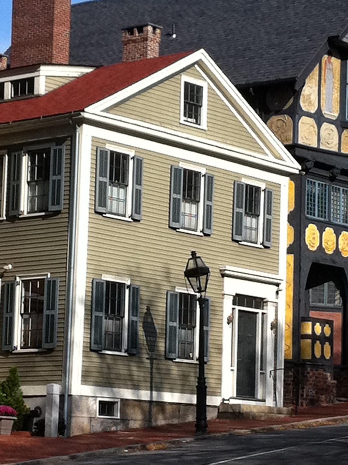 Exterior Paint Color Combinations: Hazardous Design: House Colors