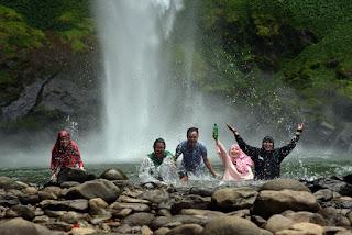 Air terjun Putri Malu Way Kanan Lampung