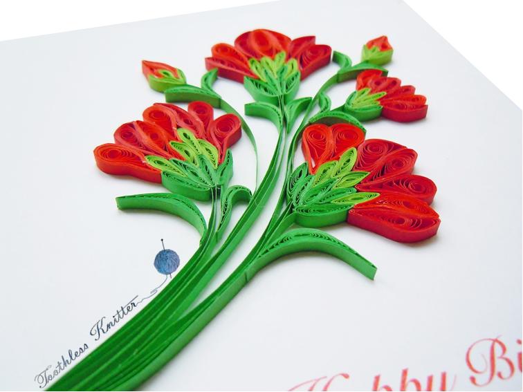 Red Carnations/ Czerwone Goździki