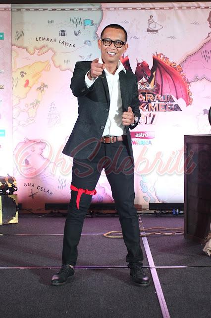 Maharaja Lawak Mega 2017 gabungan 3 negara Malaysia, Singapura dan Indonesia