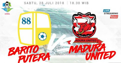 Barito Putera vs Madura United