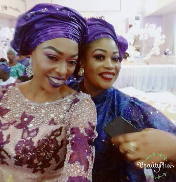 Celebrity Wedding Nollywood Movie: Nollywood Yoruba Actors Reunite For Iya Awero Son's