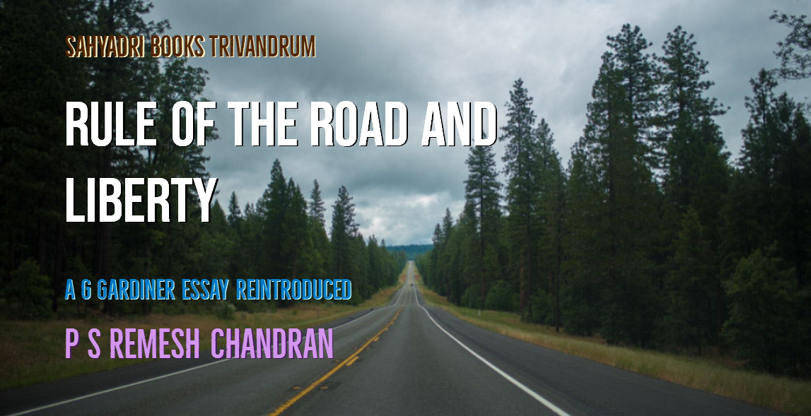 Sahyadri Books Online Trivandrum : 065  Rule Of The Road And Liberty