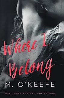 contemporary romance, romance novel covers, Where I Belong by Molly O'Keefe