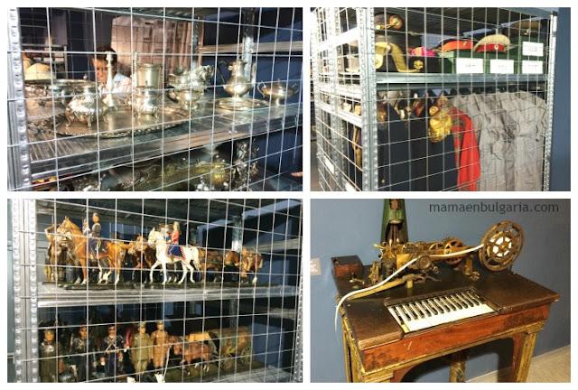 Objetos pequeños Museo militar Sofía Bulgaria