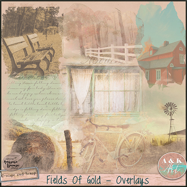 Fields of Gold overlays