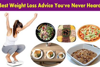 Best Weight Loss Advice You've Never Heard