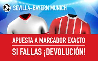 sportium promocion champions Sevilla vs Bayern 3 abril