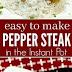 Instant Pot Chinese Pepper Steak