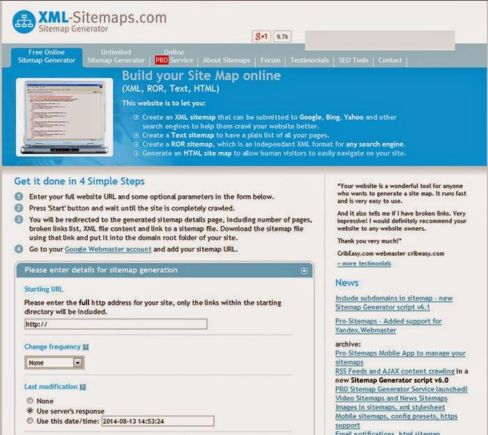 Google Xml Sitemap: XML Sitemap