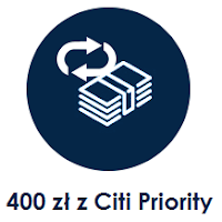 Nawet 400 zł za konto Citi Priority w Citibanku