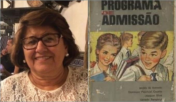 Educadora analisa livro Programa Exame de Admissão