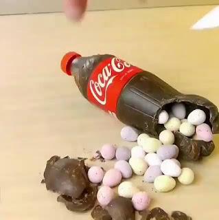 Cómo hacer una botella de Coca Cola de Chocolate