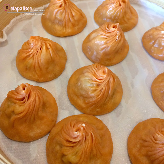 Crab Roe Xiao Long Bao from Paradise Dynasty PH