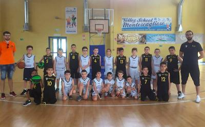 Basket, positiva la stagione dell'Athena Club Montescaglioso.