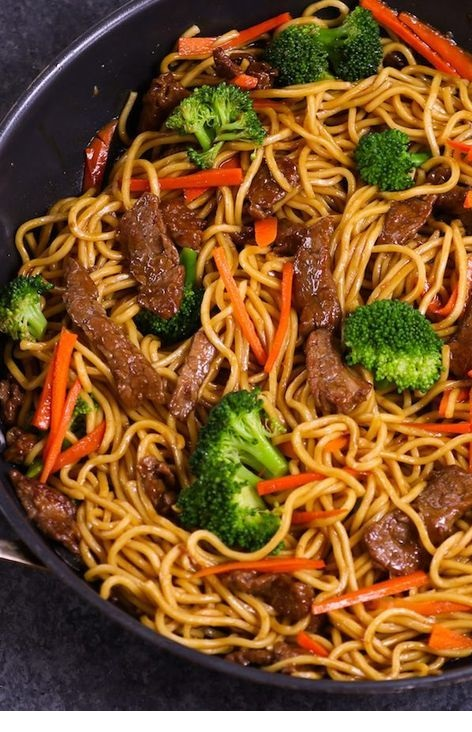 Easy Beef Lo Mein Meal Prep