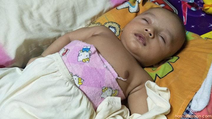 Pakai Barut Untuk Bayi Baru Lahir