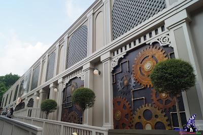 Professor J T Wu, The Nightmare Experiment, Hong Kong Disneyland, 2016 Halloween, 香港迪士尼樂園, Halloween Time, 反轉迪士尼, 詭夢實驗室, 大街詭異酒店, Main Street Haunted Hotel