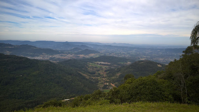 Vista do alto do Morro das Antenas