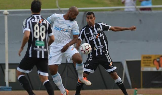 Londrina 3 x 2 Ceará: Os erros defensivos prevaleceram
