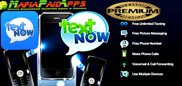 TextNow – free text + calls Premium Unlocked Apk for Android