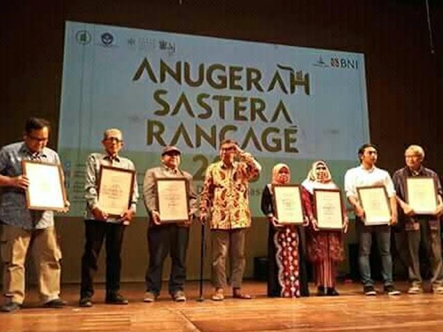 Inilah Sastrawan Daerah Penerima Anugerah Sastra Rancagé  2018