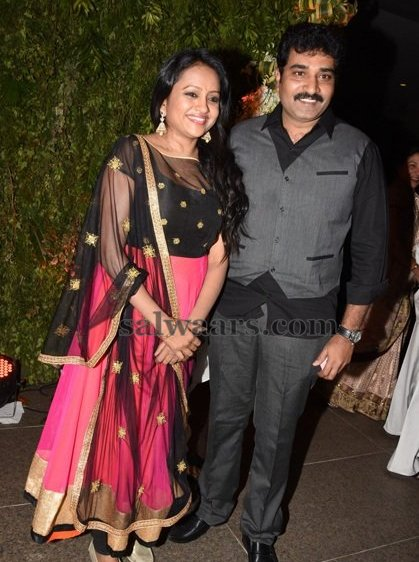 Suma Kanakala at Srija Wedding