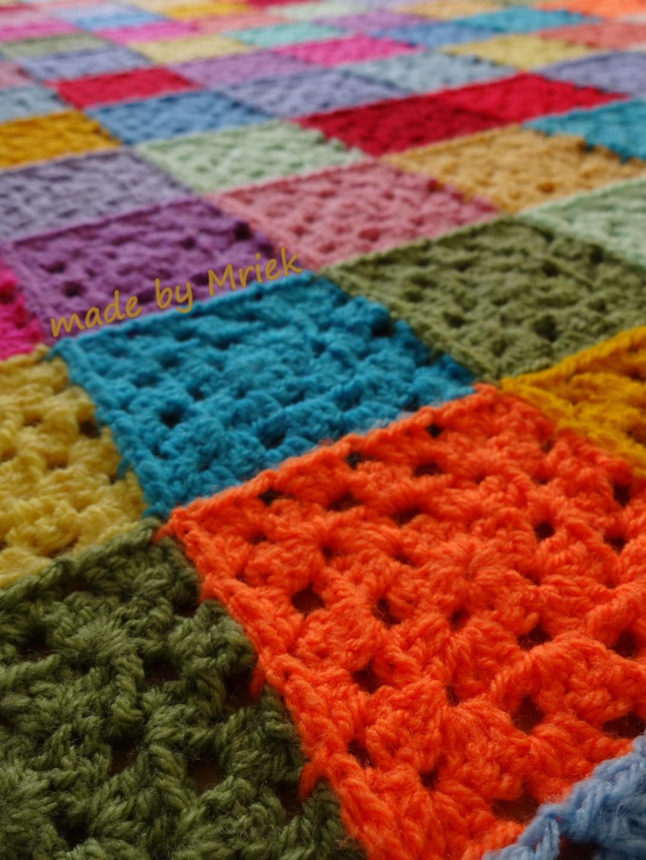 Crochet Moodblanket 2015