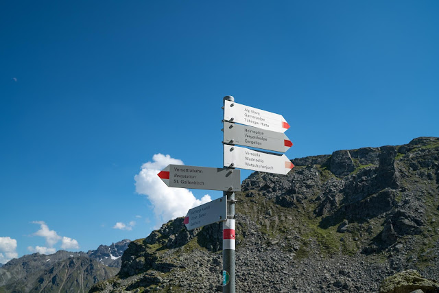 Gipfelweg Madrisella  Wandern Silvretta-Montafon  Vorarlberg 04