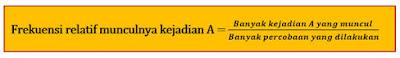 Materi Peluang Matematika dan Rumus Peluang SMP 1