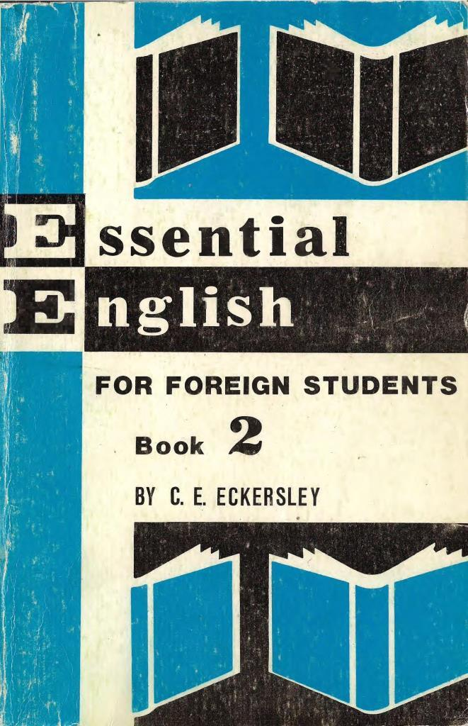 Essential English for foreign students, Book 2