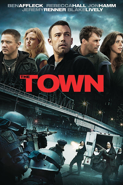 Poster of The Town (2010) Extended Dual Audio Hindi 720p BluRay ESubs Download