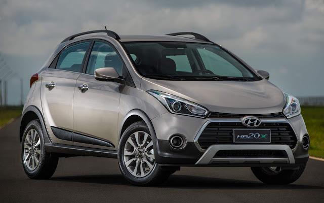 Hyundai HB20 - 2º carro mais vendido do DF em 2018