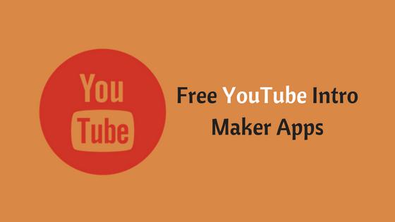 Free YouTube Intro Maker