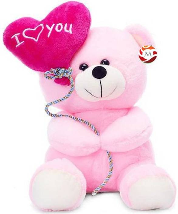 Romantic I Love You Pink Teddy Bear Pictures for Lovers